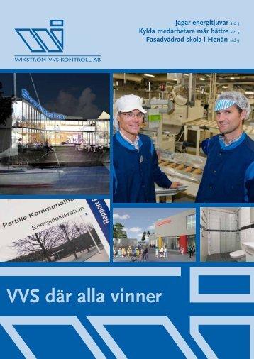 Wikströmstidningen 2009 - Wikström VVS-Kontroll