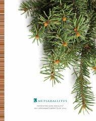 Forststyrelsens bokslutet och verksamhetsberättelse 2011
