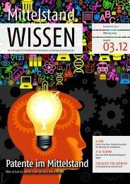 Patente im Mittelstand - Unternehmer.de