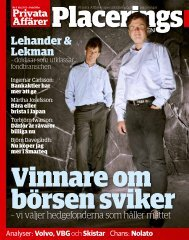 Lehander & Lekman - Nordic Fund Management (Ireland) Limited