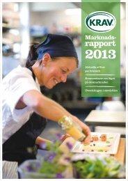 Ladda ner KRAVs marknadsrapport 2013