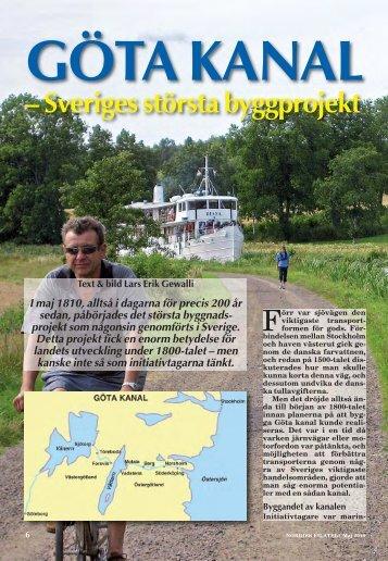 Göta kanal - Nordisk Filateli