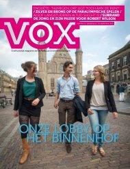 ONZE LOBBY OP HET BINNENHOF - Vox magazine