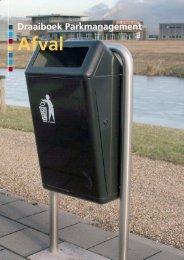Draaiboek parkmanagement themadeel afval - Provincie Overijssel