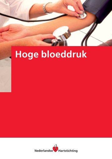 Hoge bloeddruk (Uitgave Hartstichting) - Neurologie Zeeland