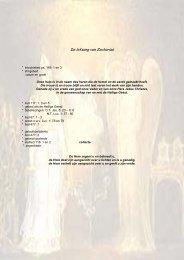 Adventspreek: De lofzang van Zacharias - Bijbels perspectief