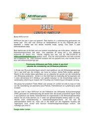 Beste AfriForum-lid AfriForum het pas 'n jaar oud geword! Baie ...