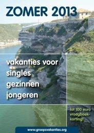 klik hier om de zomerbrochure 2013 te downloaden - welkom bij ...