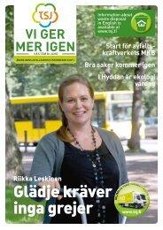 Vi ger mer igen, nr 2/2011 Väståboland (pdf)