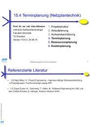 Def. - Lehrstuhl für Softwaretechnologie