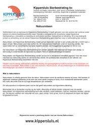 meer tips - Kippersluis Sierbestrating BV