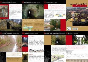 Le canal Louis XIV - Le Pays Chartrain