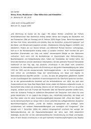 Jan Gerber Klima, Viren, Mutationen - Materialien zur Aufklärung ...
