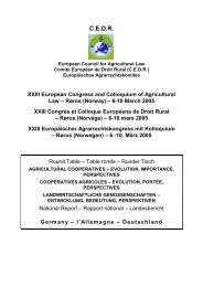 Røros (Norwegen) – 6.-10. März 2005 - European Council for ...