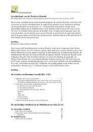 Geschiedenis van de Westerse filosofie - Literatuur en Filosofie