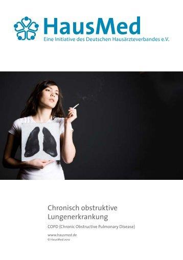 Chronisch obstruktive Lungenerkrankung - Sprechstunde