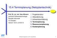 Ende - Lehrstuhl für Softwaretechnologie