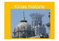 Kinas historie - (c) Forlaget Spiren