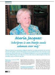 Maria Jacques: - Femma