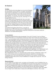 Meer informatie over het kerkgebouw - Kerken Kijken Utrecht