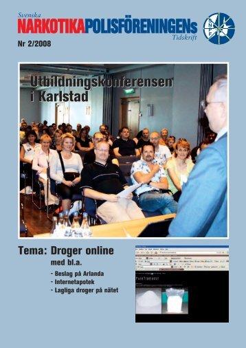 Tema Droger Online - Svenska Narkotikapolisföreningen