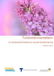 Turismtermometern maj 2012 - Visita