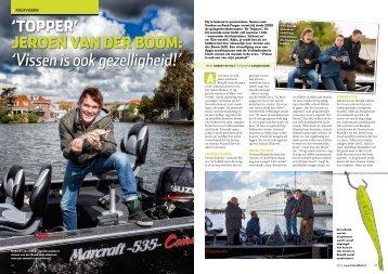 """Jeroen van der Boom: """"Vissen is ook gezelligheid"""" - Suzuki"""