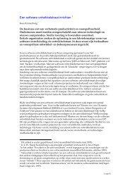Artikel Software Ontwikkelstraat - Atos