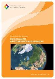 kansainväliset opetussuunnitelmasuuntaukset - Opetushallitus