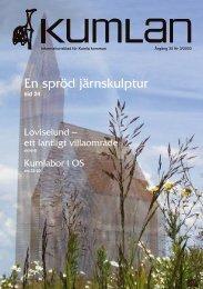 Kumlan 3/03.indd - Kumla kommun