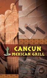 Download Menu - Cancun Mexican Grill