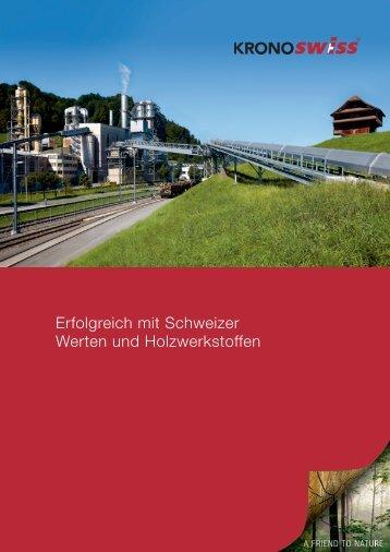 Imagebroschüre - SWISSCDF