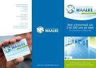 folder - Schoonmaakbedrijf Waalre