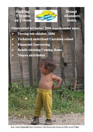 klik hier om het verslag te lezen - Stichting: Vijf Broden en Twee ...