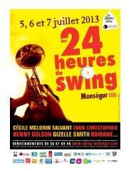 les 24 heures du swing - CCAS
