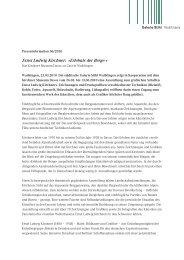 Ernst Ludwig Kirchner: »Erlebnis der Berge - Galerie Stihl Waiblingen