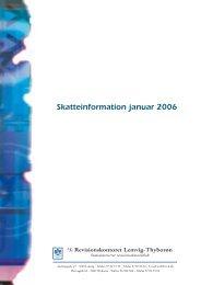 Skatteinformation januar 2006 - Vestjysk Revision