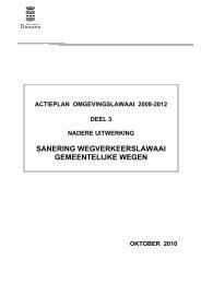 Actieplan omgevingslawaai deel 3.pdf - Gemeente Diemen