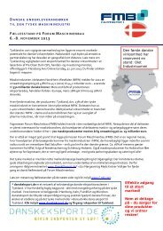 Forum Maschinenbau - Denmark Business Consulting