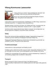 Læsecenter - Viborg Kommune