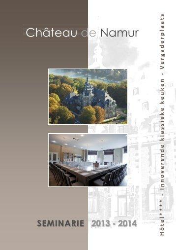 seminarie - Le Château de Namur