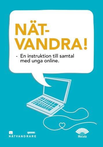 Nätvandra! En instruktion till samtal med unga online