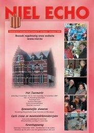 Editie nr. 6/2007 van het gemeentelijk informatieblad ... - FotoNiel