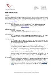 Nyhedsmail nr. 06-12 - Dansk Kano og Kajak Forbund
