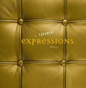 Expressions-prijslijst - EXPO RENT