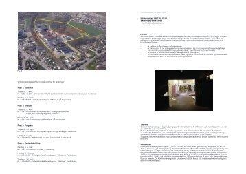 INHABITATION - Rum - Arkitektskolen Aarhus
