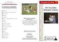 Folder om Svenska kyrkan - Björketorps församling