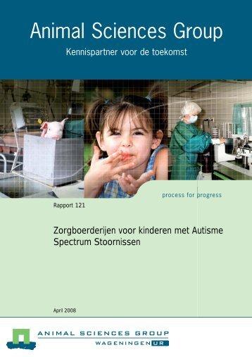Zorgboerderijen voor kinderen met Autisme Spectrum Stoornissen