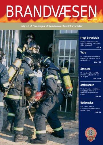 Frygt beredskab Tetra Årsmøde Ambulancer Uddannelse