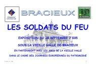 2005 Les soldats du feu - Communauté de communes du Pays de ...